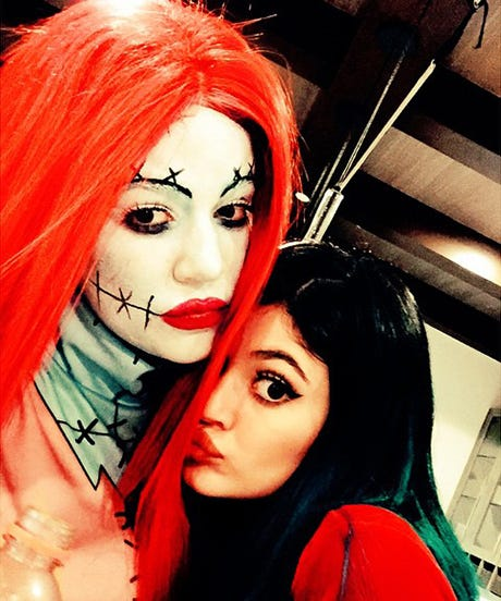 The Kardashians Had A Nightmare Before Christmas Kid Party