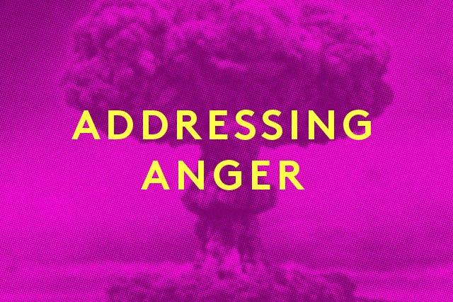 Anger - Magazine cover