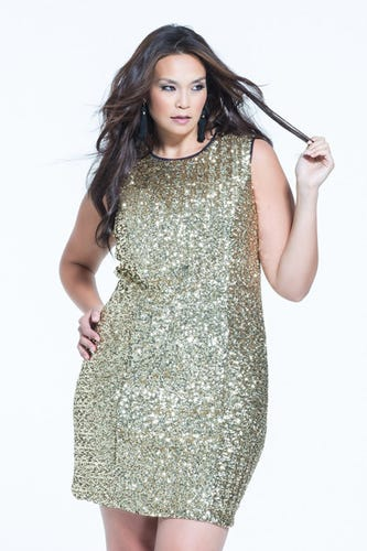 New years eve dress for plus size