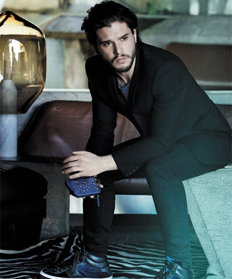 Kit Harington Jimmy Choo Man Ad