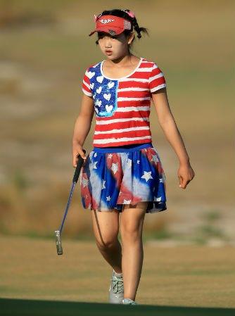 Lucy Li Youngest Female Golfer Us Open