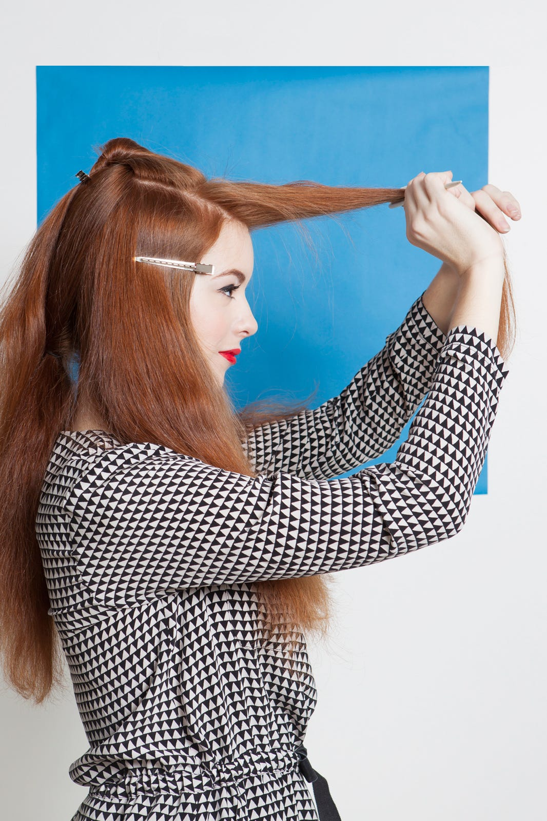 how to create vintage curls