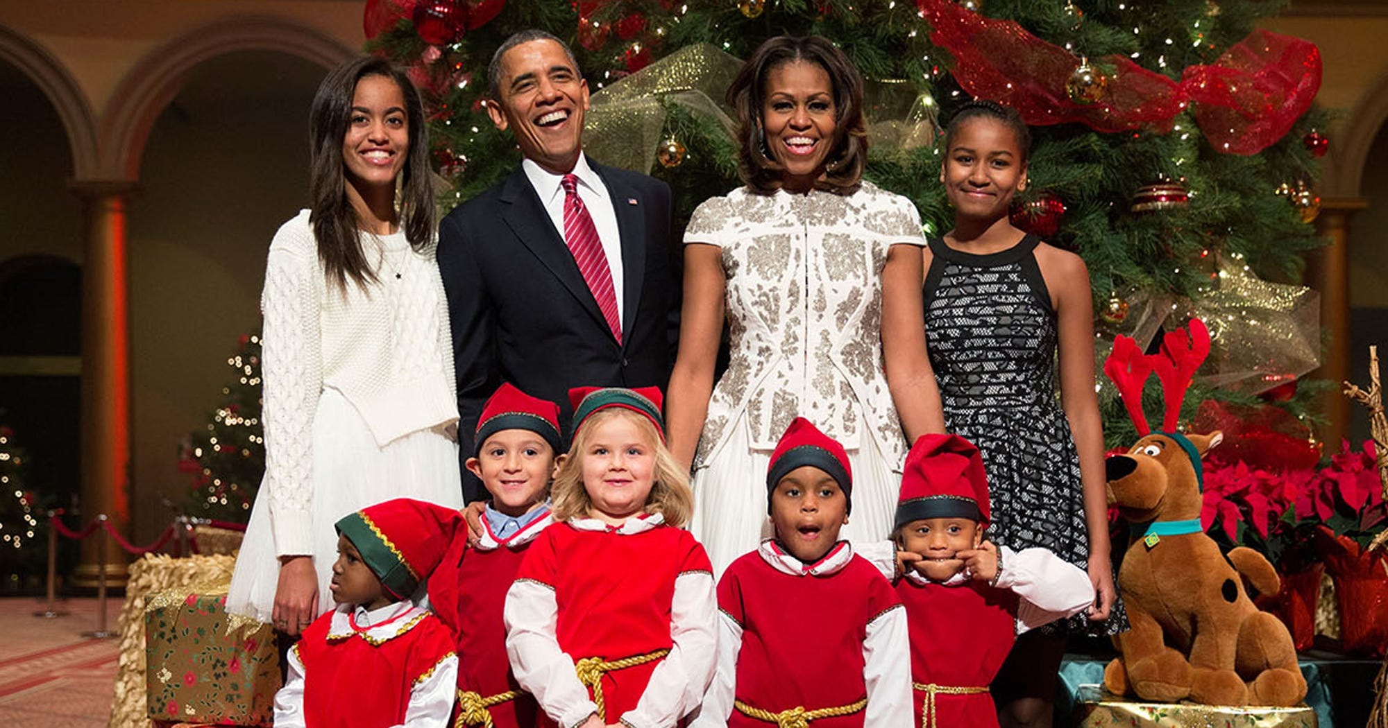 how to get a christmas card from the president