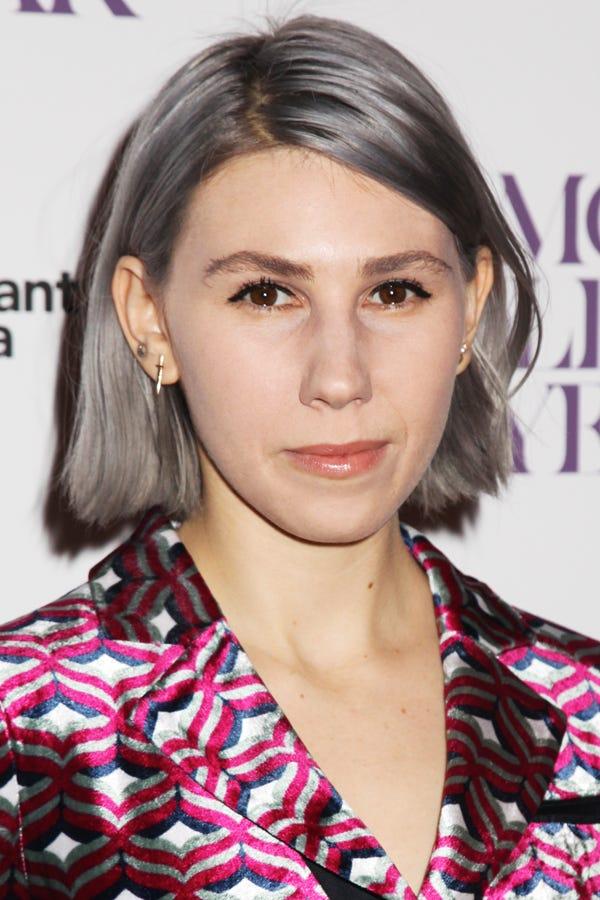 Zosia Mamet Gray Hair
