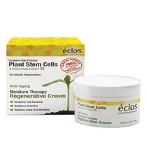 We love this less expensive version of those fancy-schmancy plant stem treatment creams that are on the market. Along with promoting self-renewal of the skin and reducing lines and wrinkles, this moisturizer includes cucumber and chamomile to soothe our raw winter complexion.  Eclos Anti-Aging Moisture Therapy Regenerative Crème, $20.99, available at Walgreens.