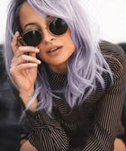 Nicole Richie Dyes Hair Purple, Time Stops