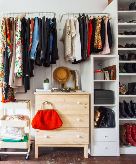 Clothes Closet Organization Ideas: Clothing Storage Solutions