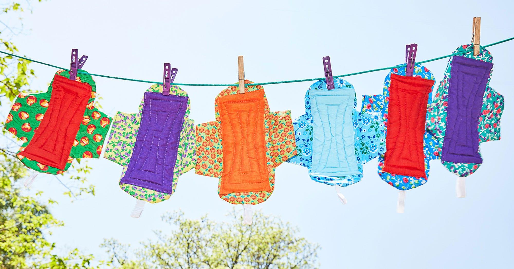 Reusable Pads, Sanitary Menstrual Products Malawi Girls