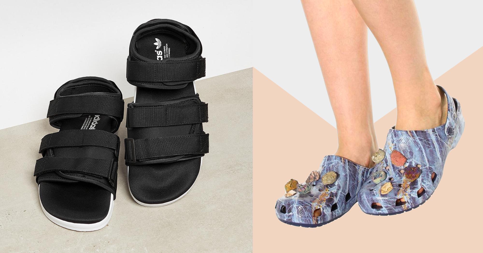 paradoxer sommertrend h ssliche sandalen sind jetzt in. Black Bedroom Furniture Sets. Home Design Ideas