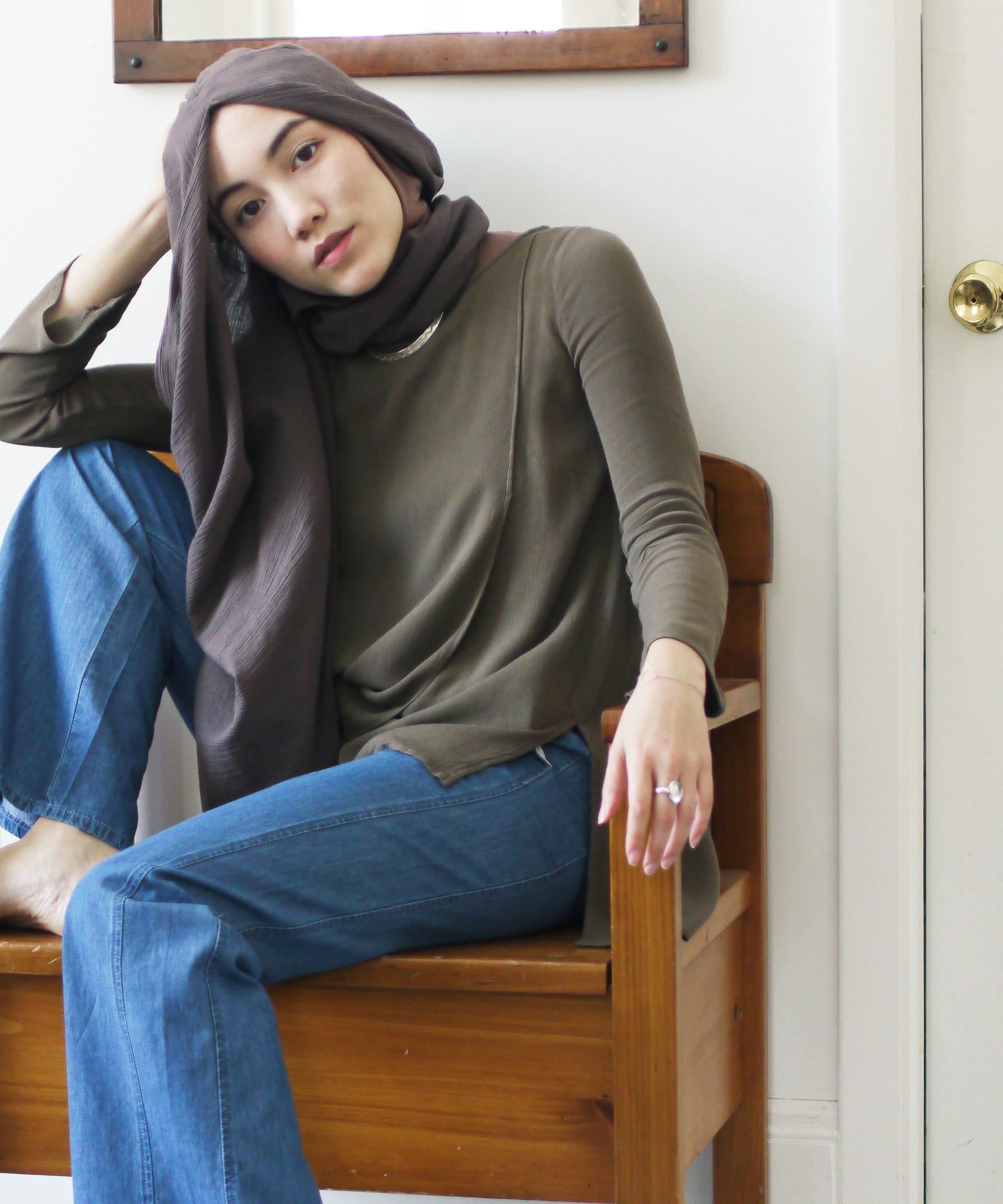 Uniqlo Hijab Tutorial Hana Tajima Collaboration 2016