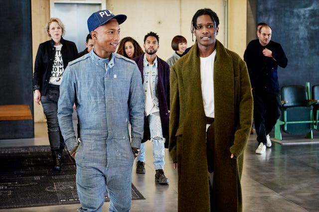 pharrell williams gstar raw sustainable fashion line