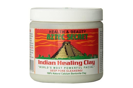 Indian healing clay bath