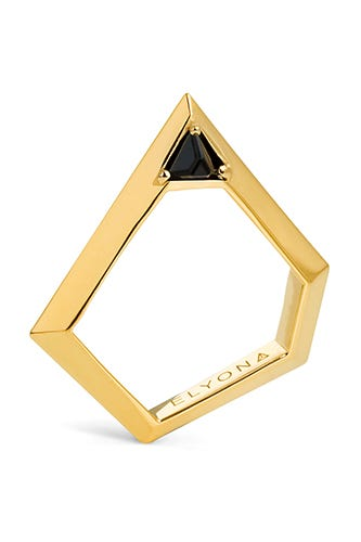 ELYONA-PENTAGONAL-RING-WITH-SWAROVSKI---GOLD-£140