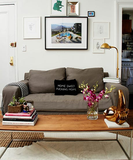 Eclectic One Bedroom Apartment Small Space Design Tips