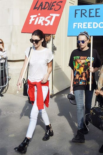What Kendall Jenner Wore For Fashion Month