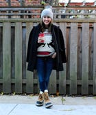 How To Rock Your Reindeer Sweater — & Still Look Classy