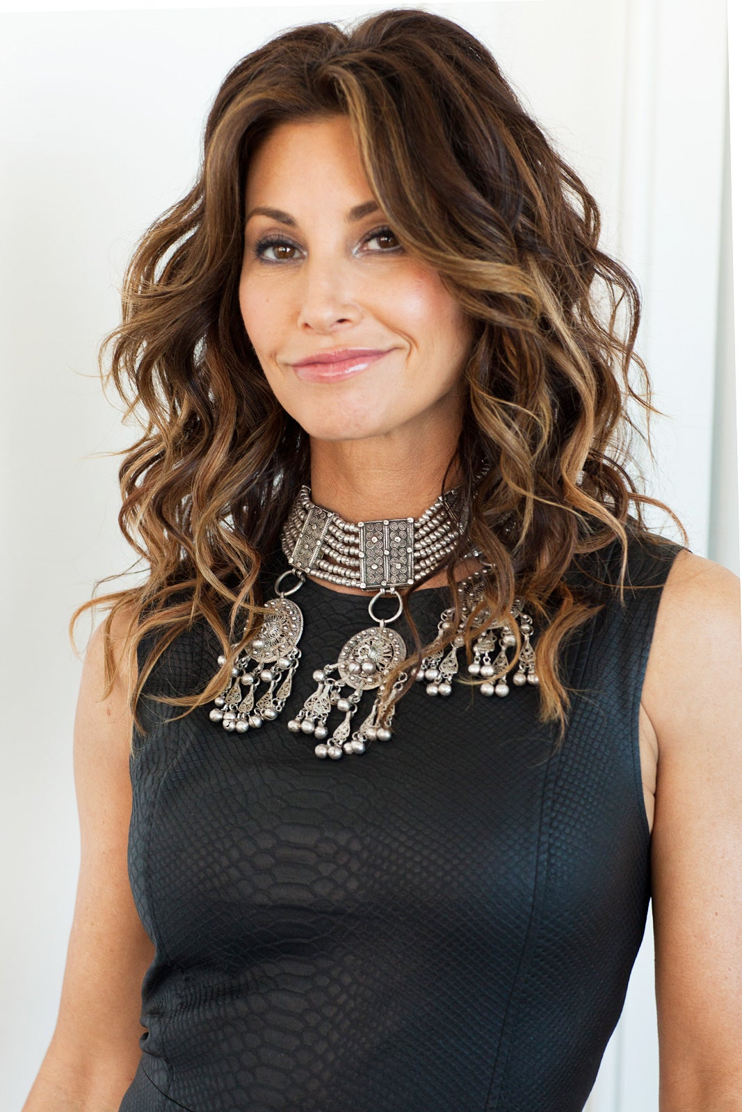 Gina Gershon Interview, Pictures - House Of Versace