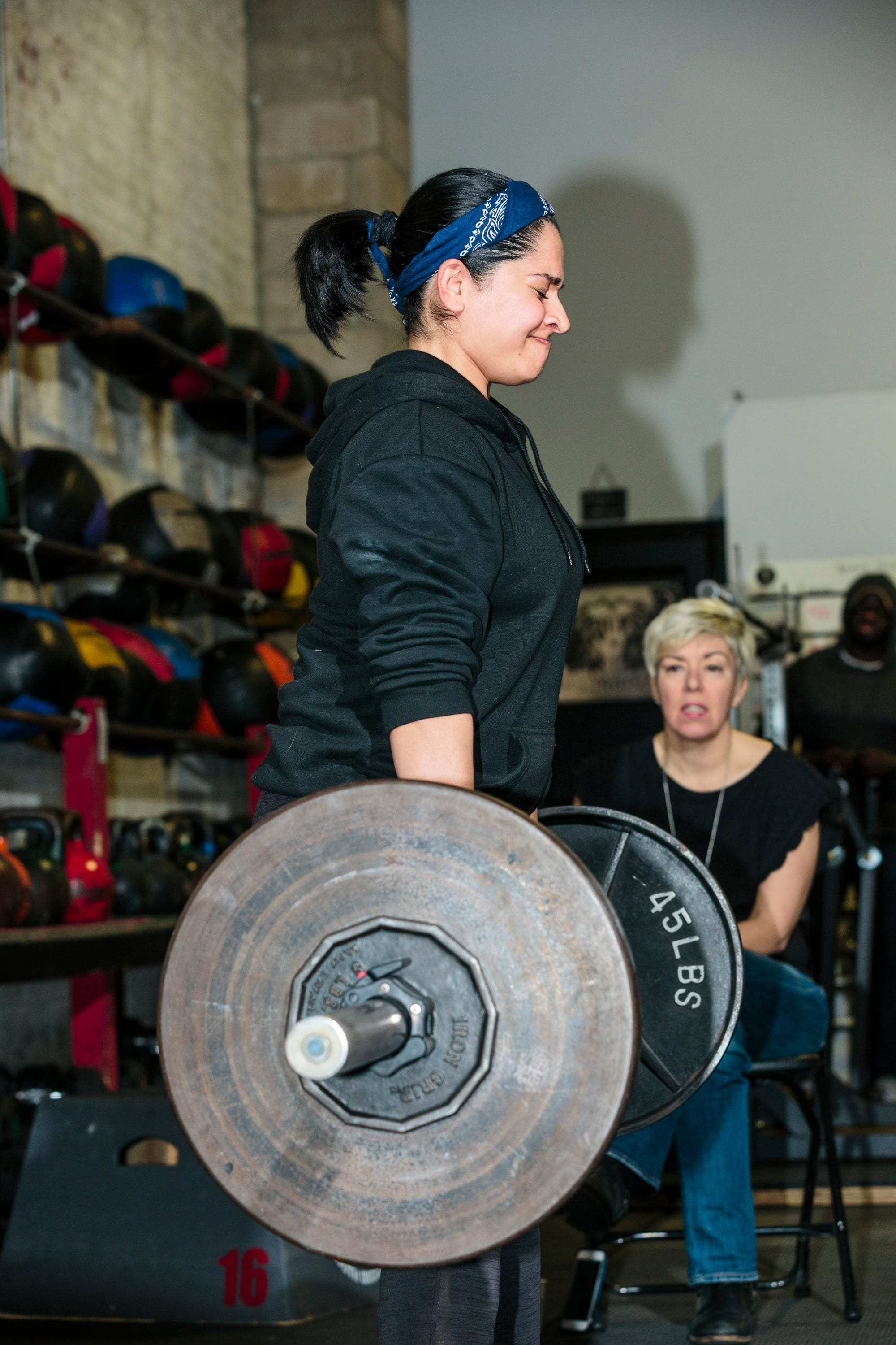 Women Powerlifting Competition Crossfit Photos 2017