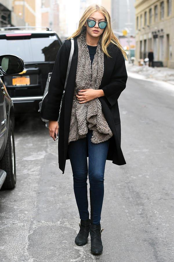 Gigi Hadid NYFW Street Style