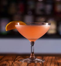 Seasonal Rhubarb Martini, The Little Door Infused with organic oranges, this rhubarb martini from the charming Little Next Door on West 3rd Street is the perfect way to end the work day. The Little Door, 8164 West 3rd Street;  323-951-1210.