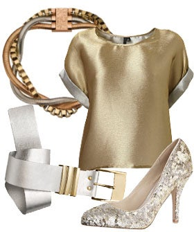How To Wear Silver And Gold Together
