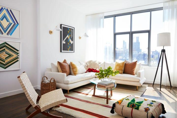 Mindy Kaling NYC Apartment Makeover One Kings Lane