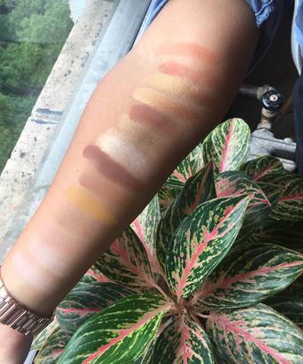 Sephora Pro Warm Eyeshadow Palette Naked Heat Dupe