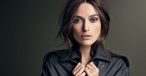 Keira Knightley Glamour Cover - November 2014 Issue