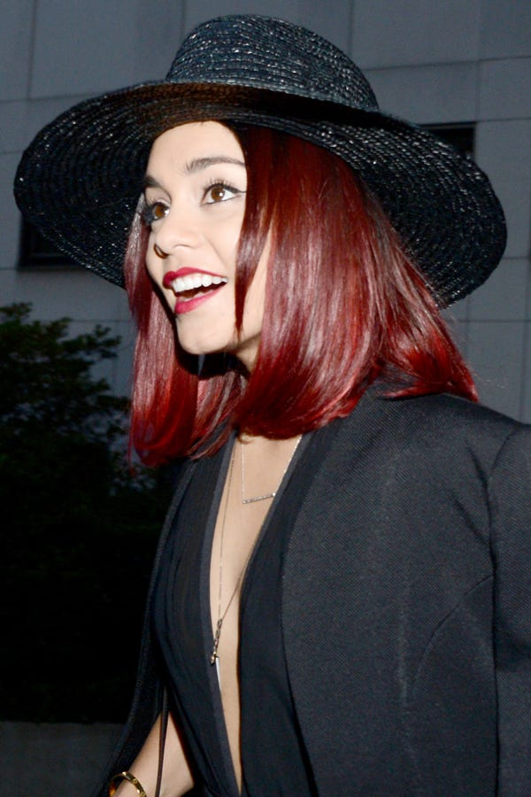 Vanessa Hudgens Red Hair