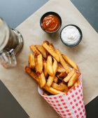 The BEST Fries We've Ever Tasted...No Ketchup Needed!