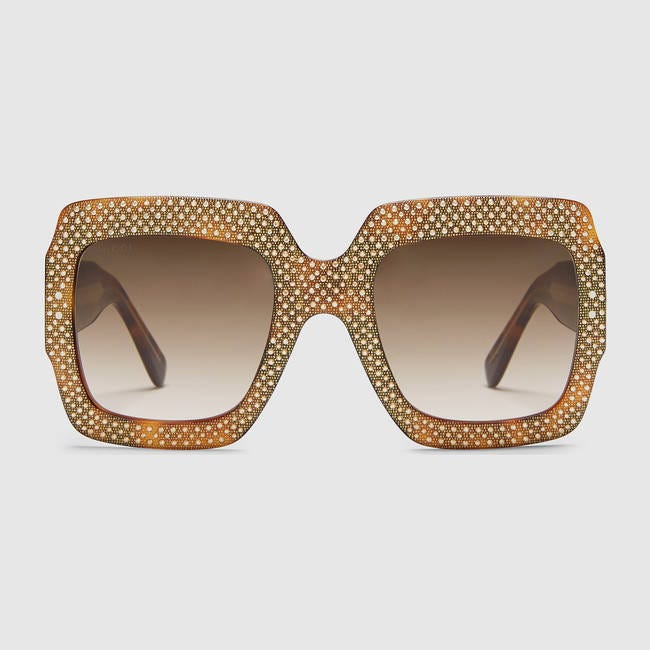 Rhinestone Fashion Sunglasses For Ladies