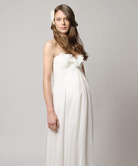 David S Bridal Maternity Wedding Dresses: Pregnancy, Baby Bump Dresses