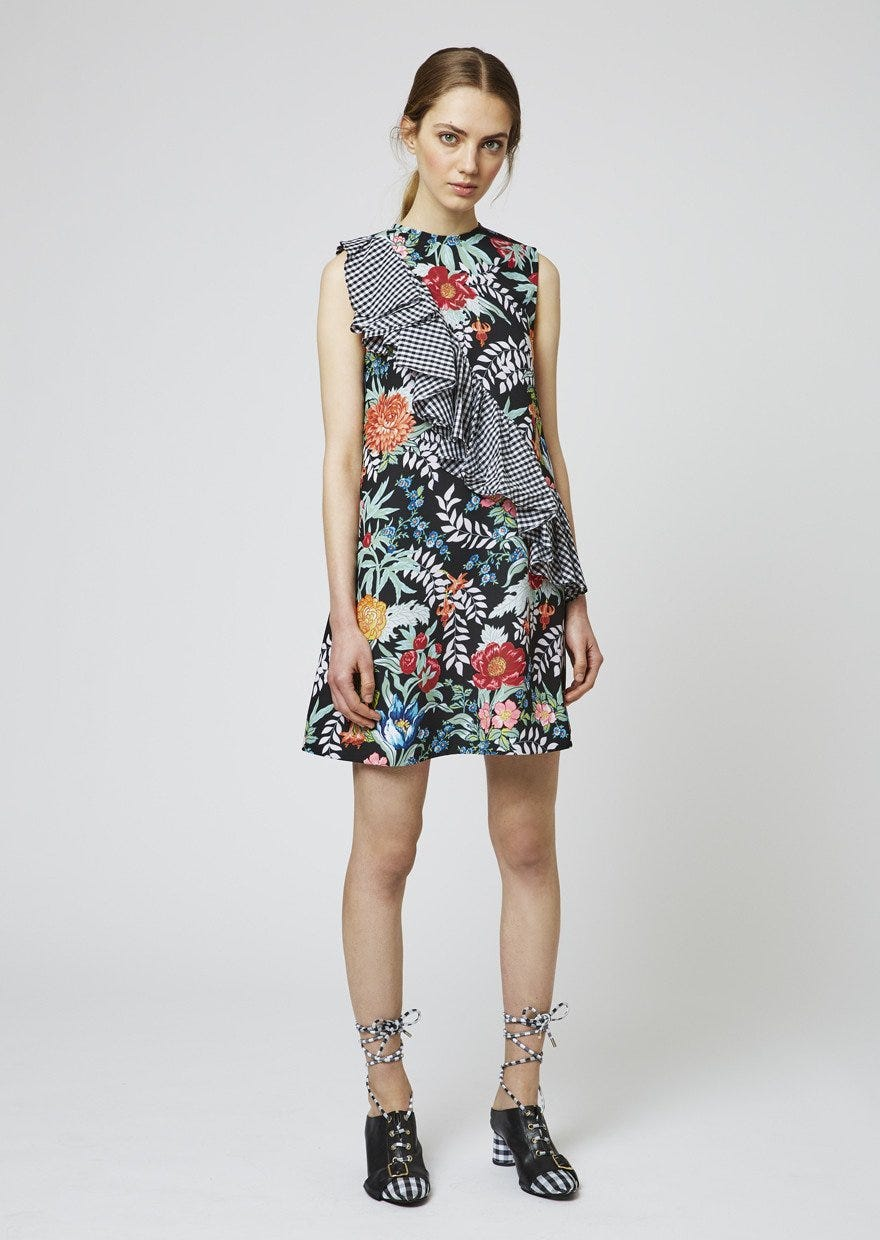 best patchwork panelled dresses summer trend style