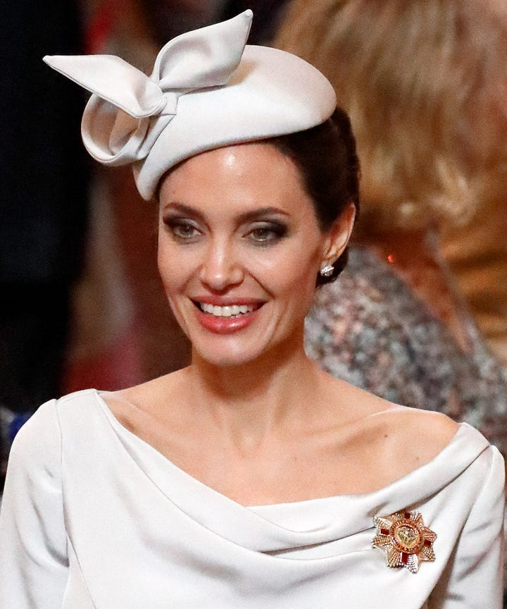Angelina Jolies Royal Makeover Is Very Convincing