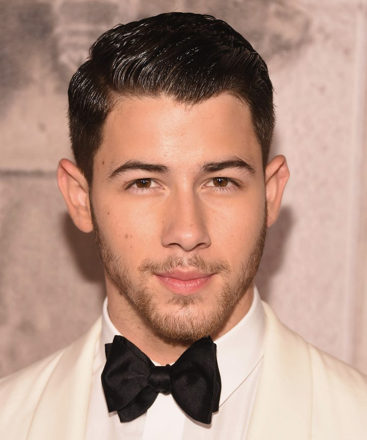 Curls Mustaches Happy Trails Inside The Life Of Nick Jonas Groomer
