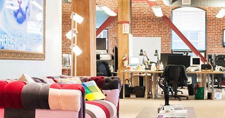 S.F.'s COOLEST Start-Up Offices, Revealed