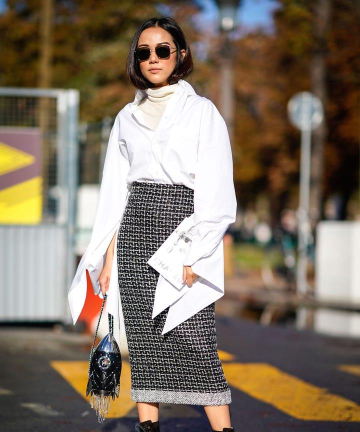 Cute Trendy Pencil Skirts For Winter 2018, Zara Mango