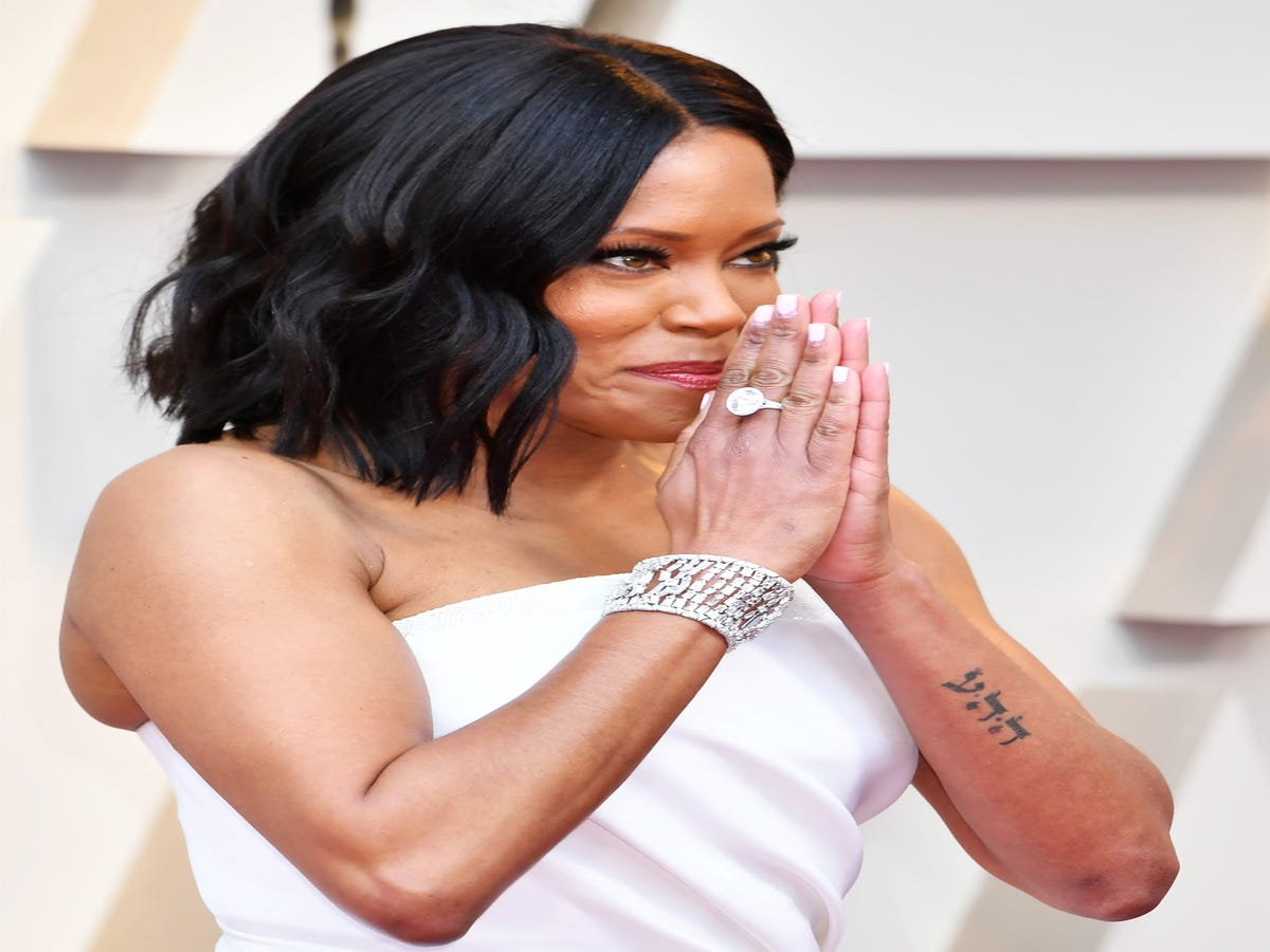 The Meaningful Story Behind Regina King s Forearm Tattoo