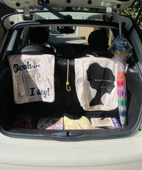stylelist car trunk tour celebrity car trunks