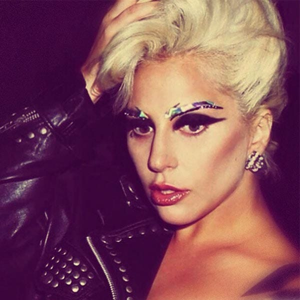 Lady Gaga Makeup Artist Sarah Tanno Eyebrow Jewelry