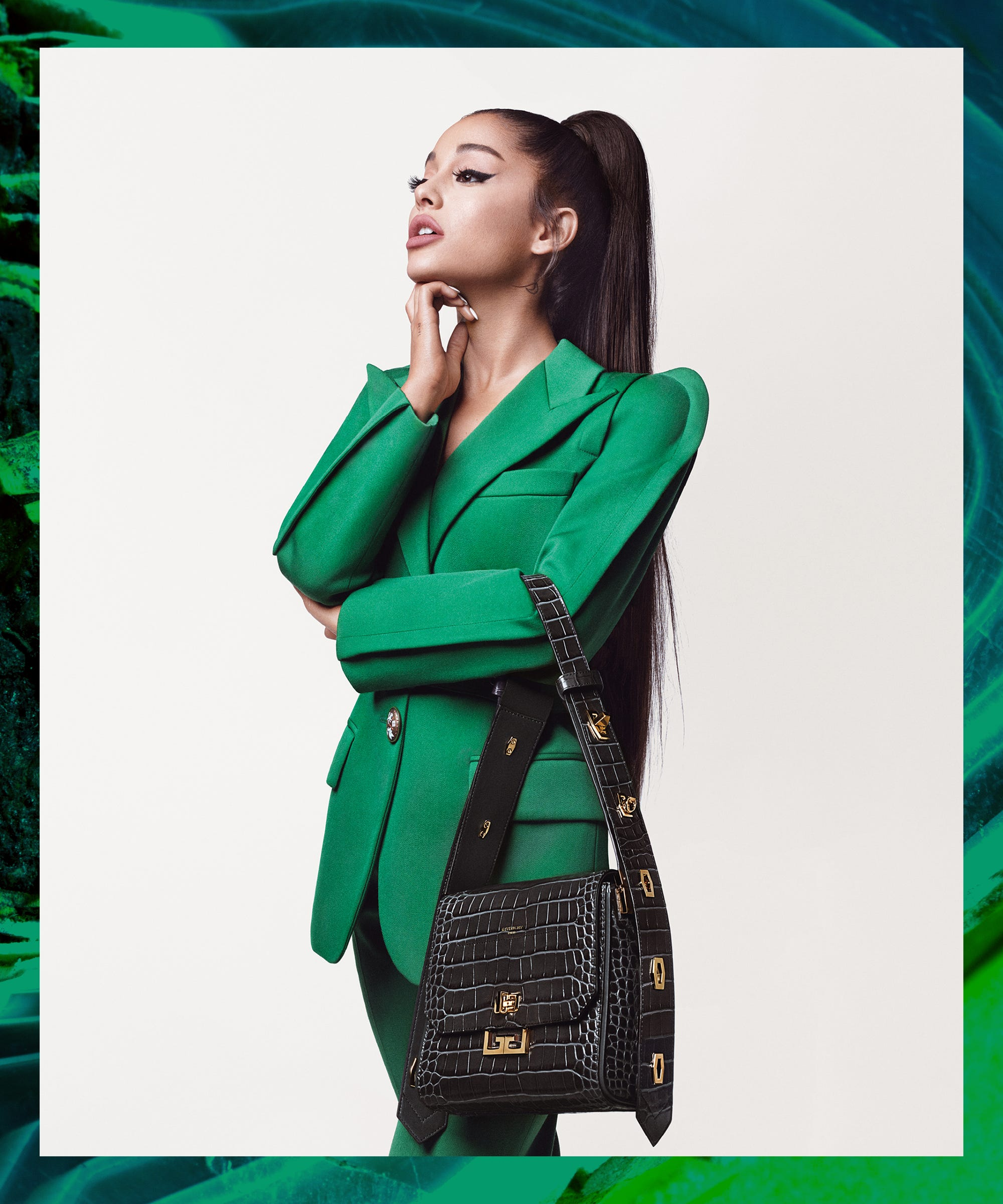 Ariana Grande's First Givenchy Campaign Is Here