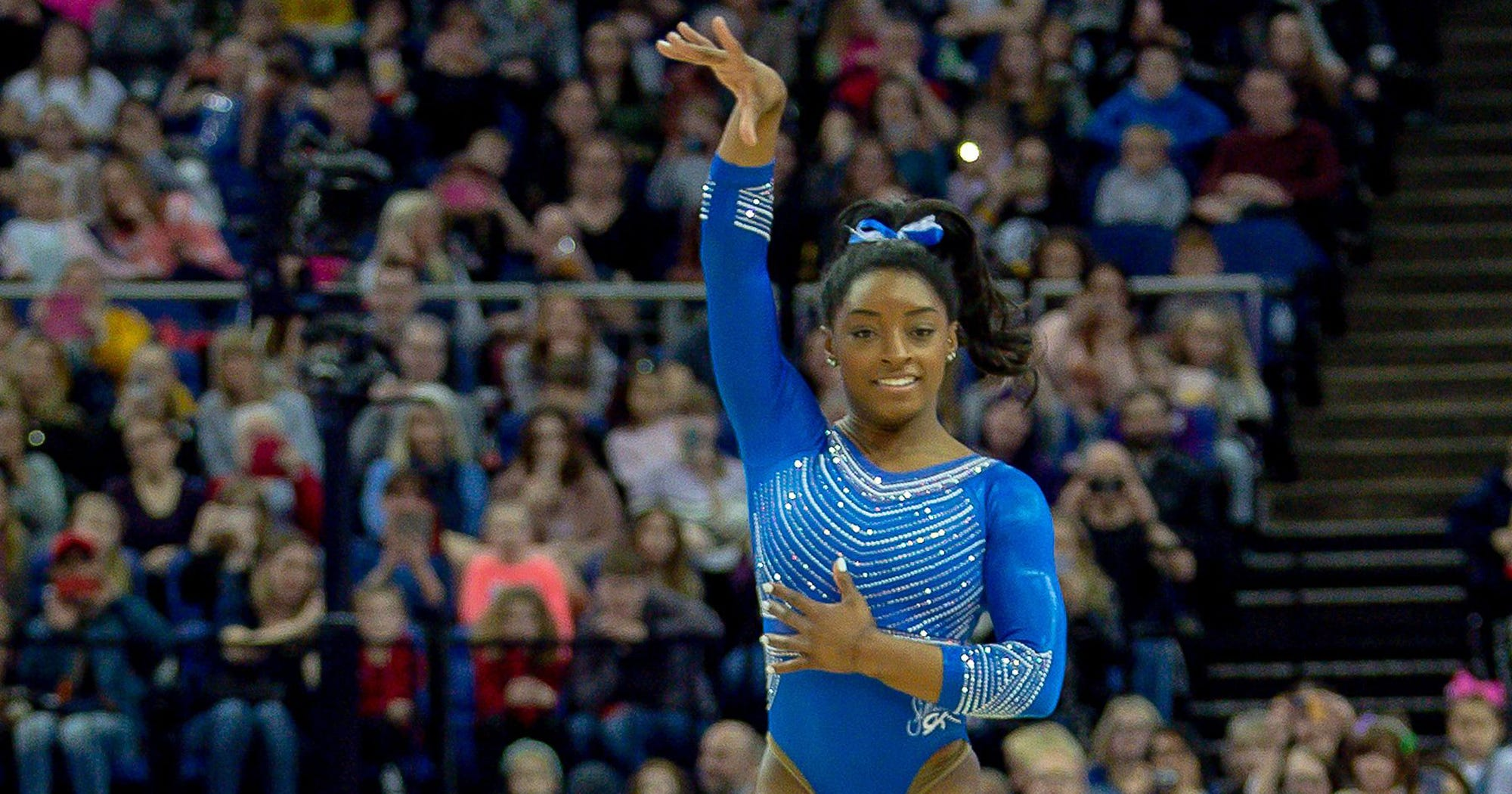 Simone Biles Is The GOAT After Landing A Move No One Has Ever Done
