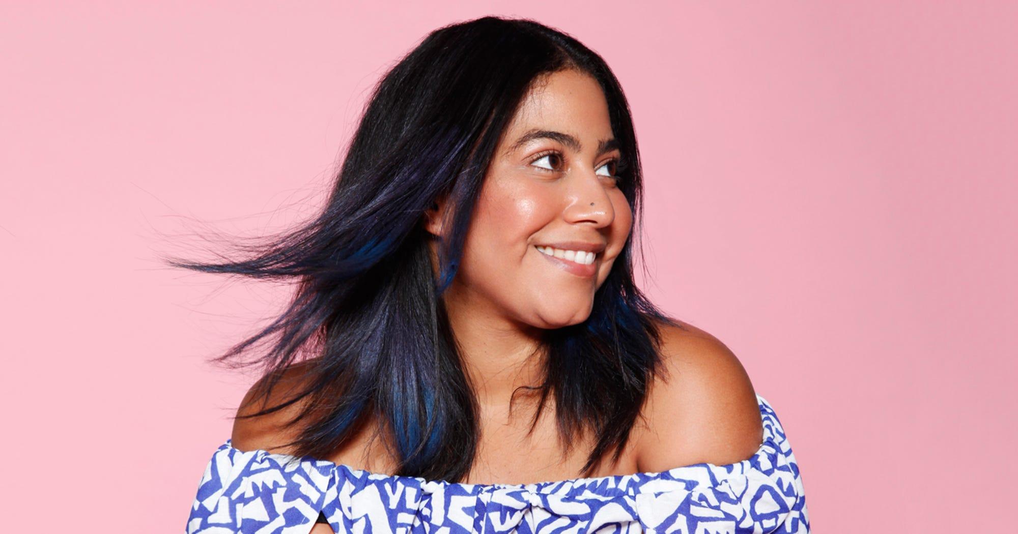 A Foolproof Way To Dye Dark Hair Cool Colors