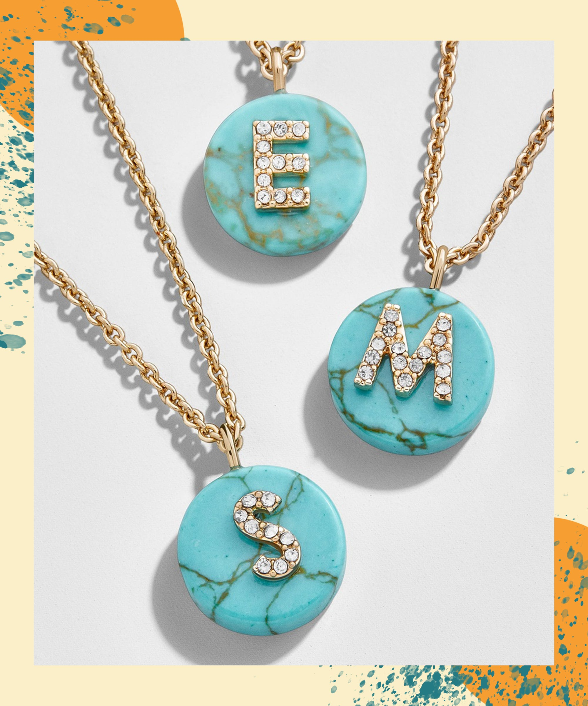 Show Your Love For Mom By Spelling It Out With Personalized Jewelry