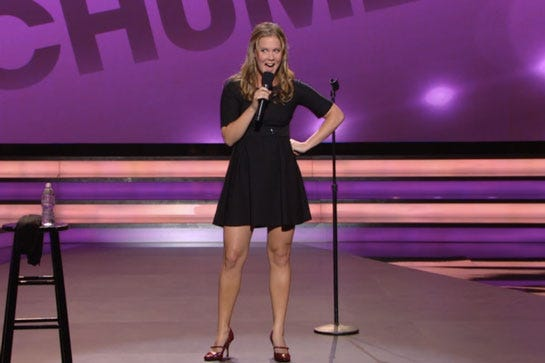 amy schumer hbo special best stand up moments