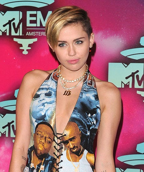 Miley Cyrus Wants The East Vs. West Coast Rap Feud To End Already