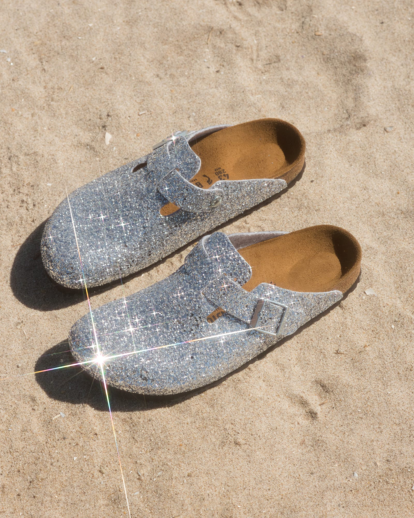 a110fb9b6f3a Opening Ceremony x Birkenstock New Glittery Sandals