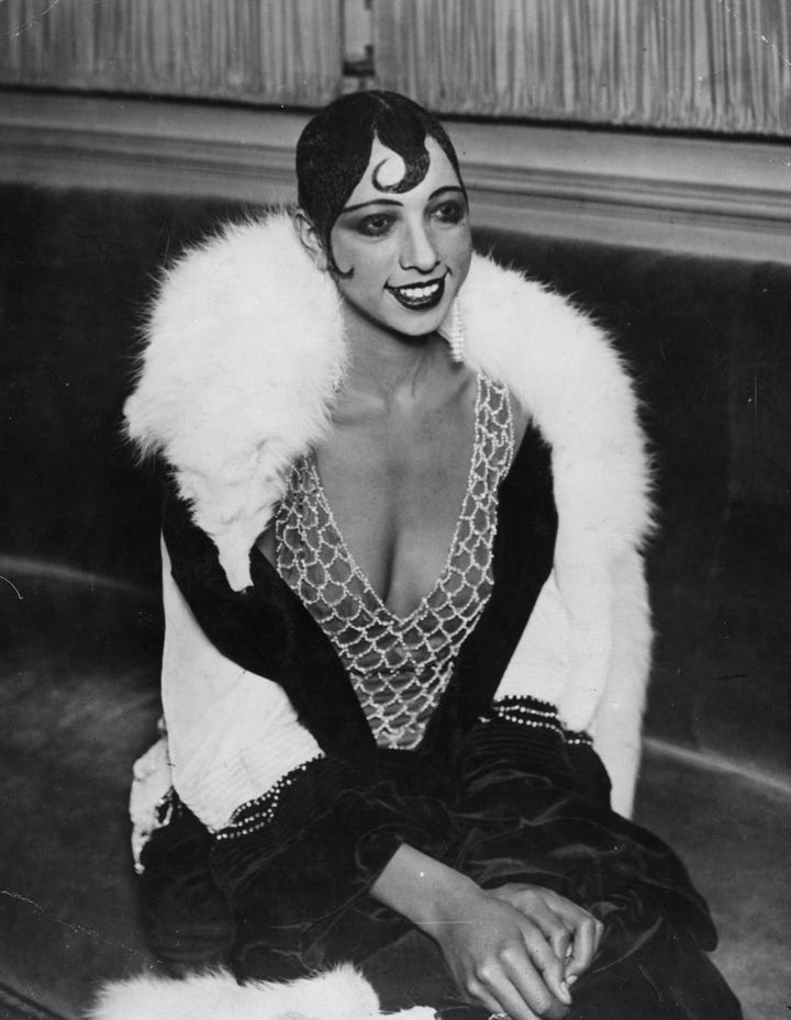 Josephine Baker As Herself
