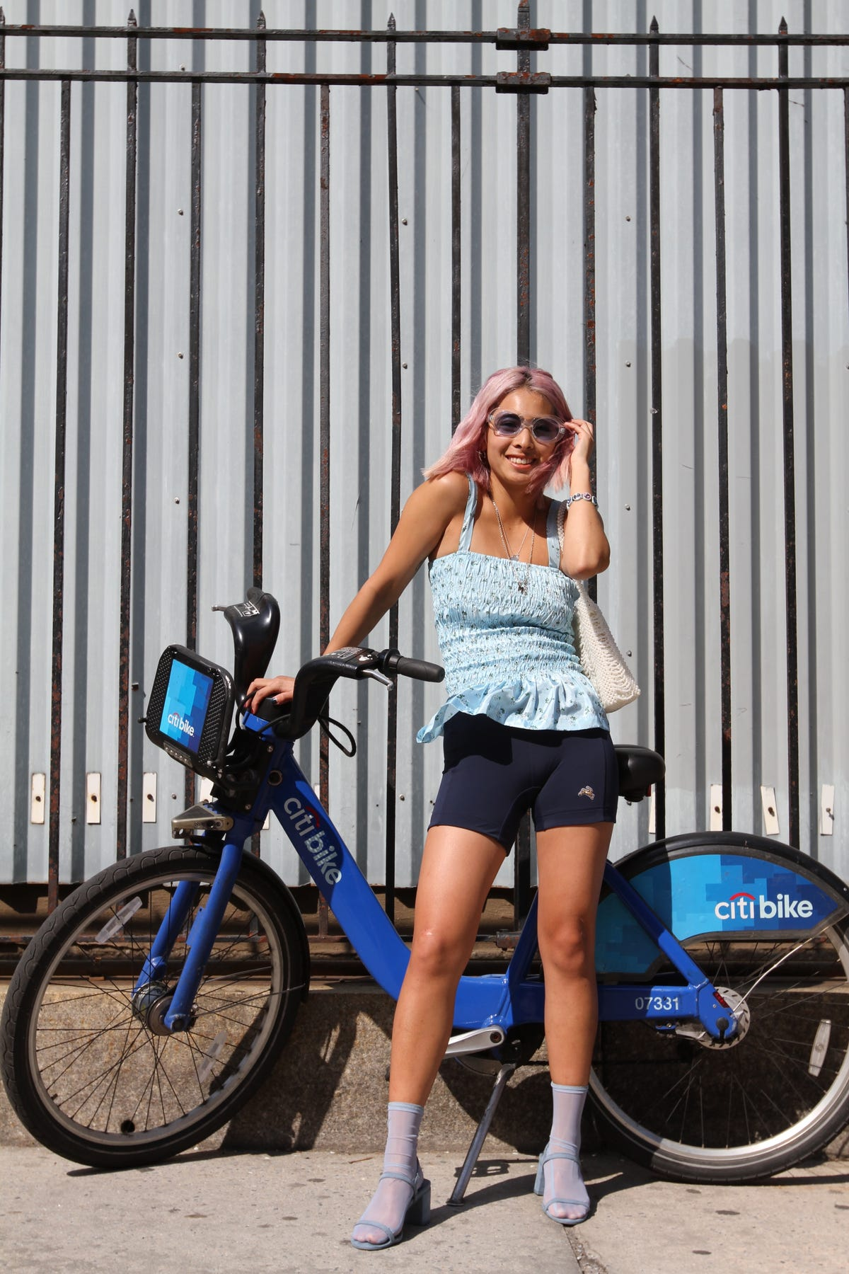 a817bb19aab How To Style Bike Shorts Street Style Trend For Summer