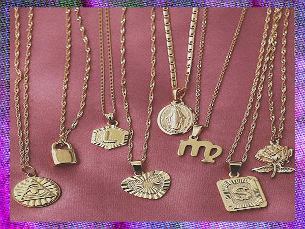 29 Sentimental Charm Necklaces You ll Never Take Off